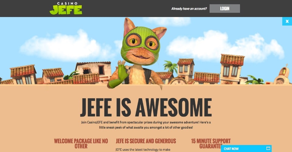 Casino Jefe Online casino